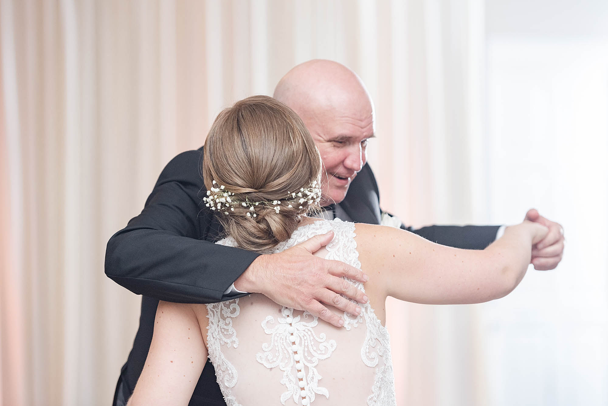 father-daughter dance at Wedgewood Golf & Country Club