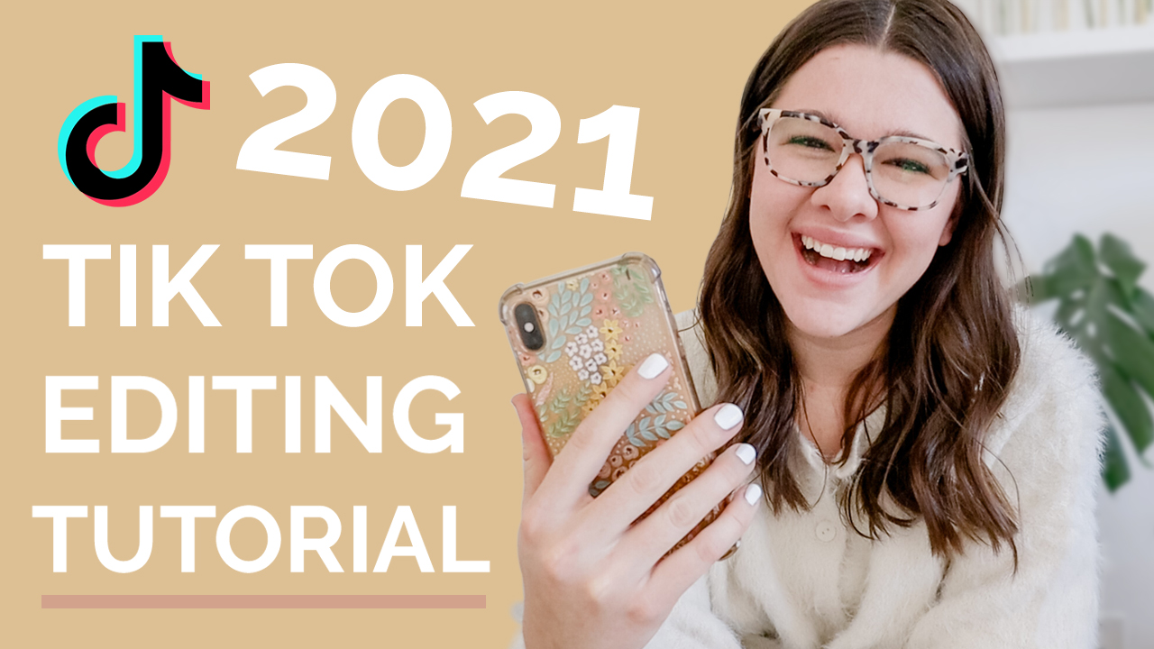 Tik Tok tutorial for creating and editing videos, tips for adding sounds and effects in 2021 shared by social media educator Stephanie Kase